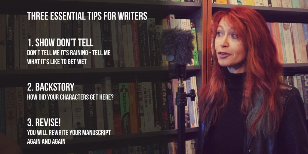 Writing Tips From Roz Morris
